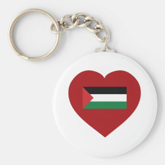 I Love Palestine Key Ring