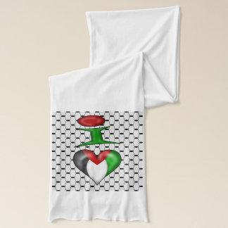 I love Palestine Scarf