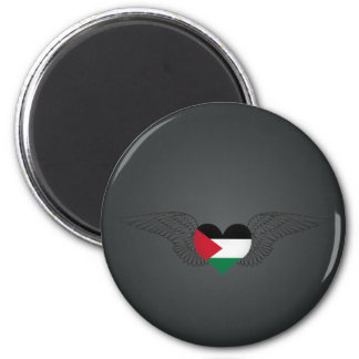 I Love Palestine -wings Refrigerator Magnet