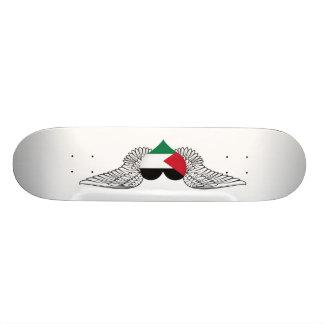 I Love Palestine -wings Skate Boards