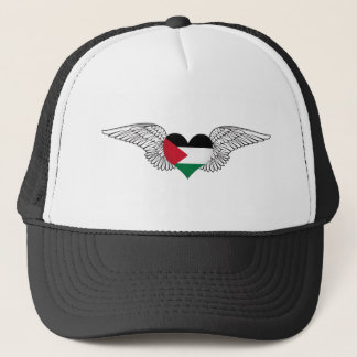 I Love Palestine -wings Trucker Hat