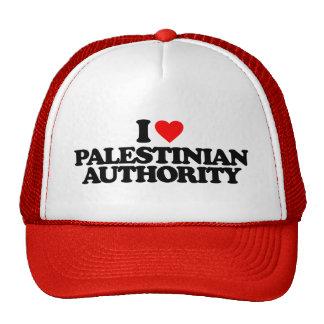 I LOVE PALESTINIAN AUTHORITY TRUCKER HAT
