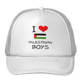 I Love Palestinian Boys Mesh Hats