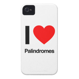 i love palindromes iPhone 4 case