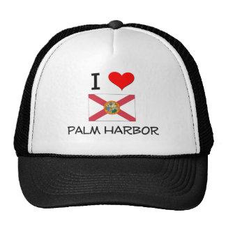 I Love PALM HARBOR Florida Hats