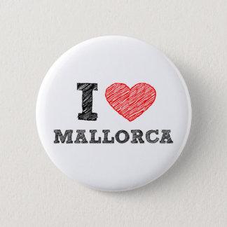 I Love Palma de Mallorca 6 Cm Round Badge