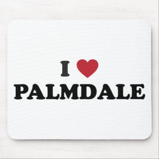 I Love Palmdale California Mouse Pad