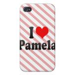 I love Pamela iPhone 4/4S Cases