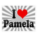 I love Pamela Postcards