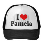 I love Pamela Trucker Hat