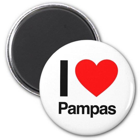 i love pampas magnet