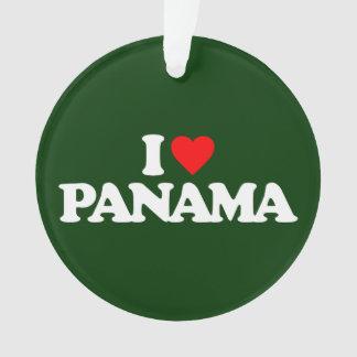 I LOVE PANAMA ORNAMENT