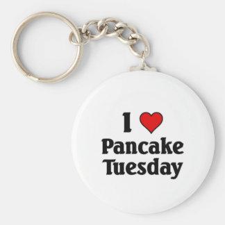 I love Pancake Tuesday Key Ring