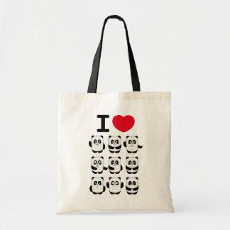 I love Panda bag