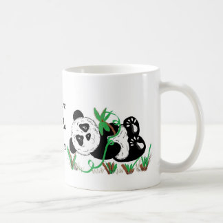 I Love Panda Bears Basic White Mug