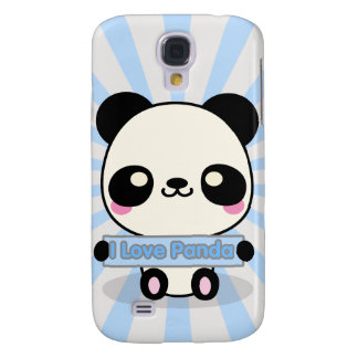 I Love Panda Galaxy S4 Case