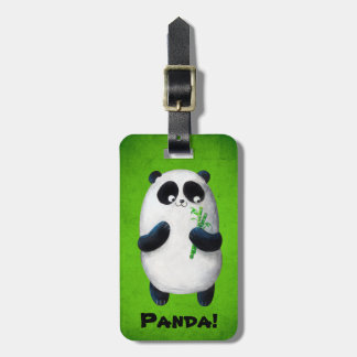 I love Panda Luggage Tag