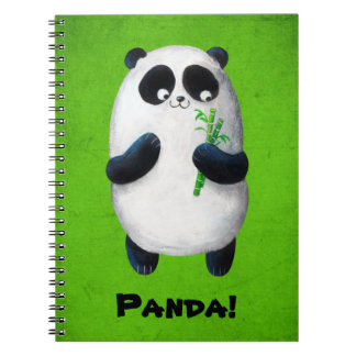 I love Panda Notebook