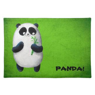I love Panda Placemat