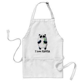 I love Panda Standard Apron