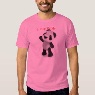 I love Panda Tshirt