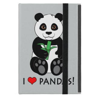 I Love Pandas! iPad Mini Covers