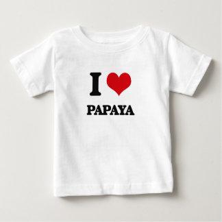 I Love Papaya Shirt