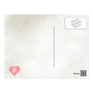 I Love Paper Fasteners Postcard