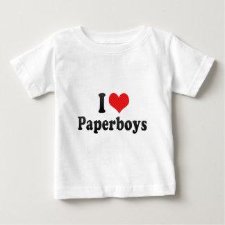 I Love Paperboys Tee Shirts