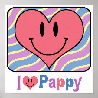 I Love Pappy Print