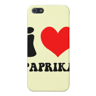 I love paprika iPhone 5 case