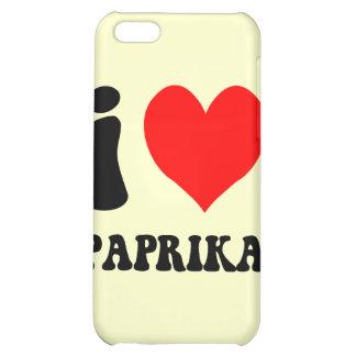 I love paprika iPhone 5C cases