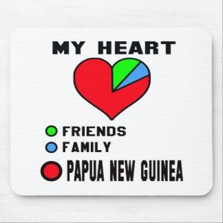 I love Papua New Guinea. Mouse Pad