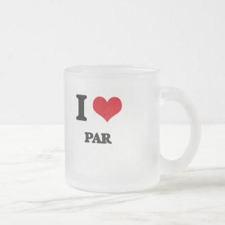 I Love Par Mugs