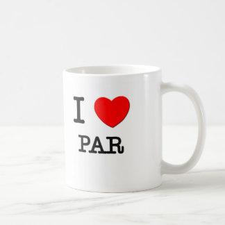 I Love Par Coffee Mug