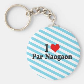 I Love Par Naogaon Bangladesh Key Chain