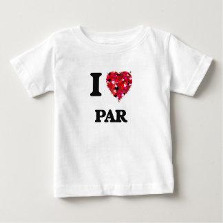 I Love Par Tee Shirt