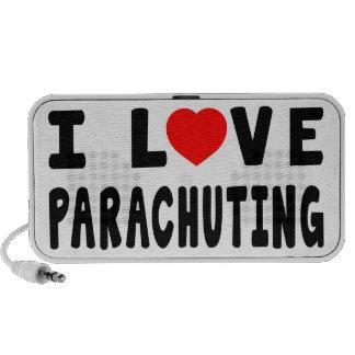 I Love Parachuting PC Speakers