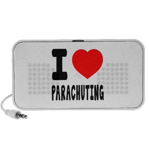 I Love Parachuting iPhone Speaker