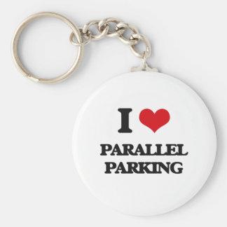 I Love Parallel Parking Key Ring