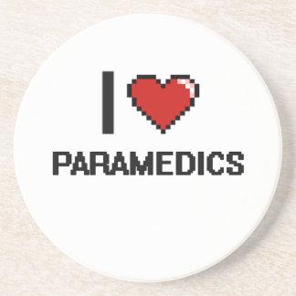 I love Paramedics Drink Coasters