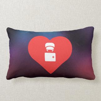 I Love Paramedics Cool Symbol Cushions