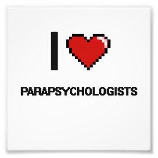 I love Parapsychologists Photo Print
