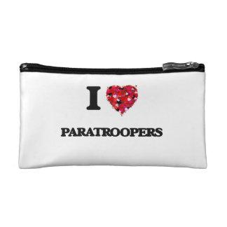 I Love Paratroopers Makeup Bag