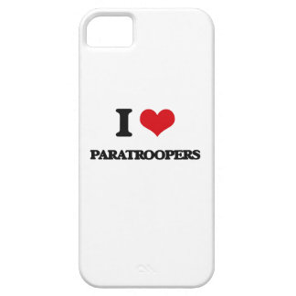 I Love Paratroopers iPhone 5 Covers
