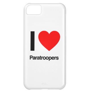 i love paratroopers iPhone 5C case