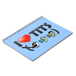 I Love Paridae EU Notebook