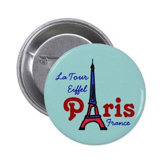 I love Paris 6 Cm Round Badge