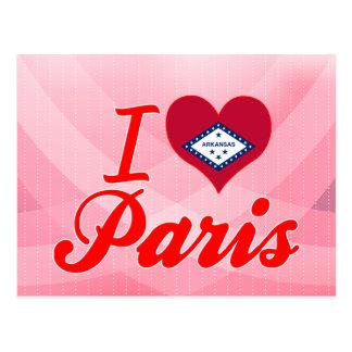 I Love Paris, Arkansas Postcard