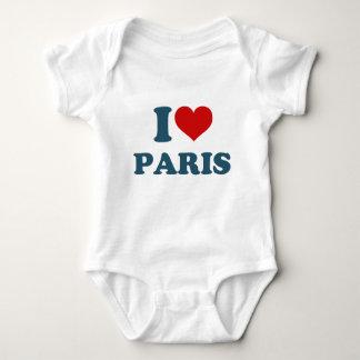 I Love Paris Baby Bodysuit